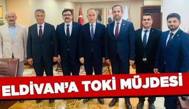 TOKİ, ELDİVAN'A KONUT, ÇERKEŞ'E MEYDAN YAPACAK