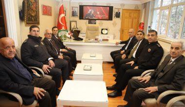 Vali Aktaş, Korgun Belediye Başkanlığını Ziyaret Etti