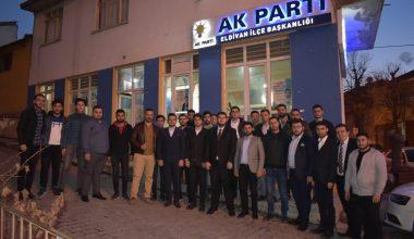 AK Gençlik, İlçe Teşkilatlarını Ziyaret Etti.