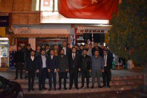 Ak Gençlik, İlçe teşkilatlarını ziyaret etti Foto