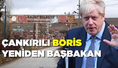 Çankırılı Boris yeniden Başbakan
