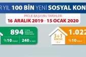 TOKİ Çankırı'ya 1000 konut yapacak