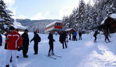 Yıldıztepe'te kayak sezonu başladı