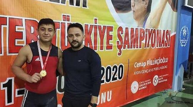 Genç Sporcumuz Mert Yılmaz Türkiye Şampiyonu Oldu