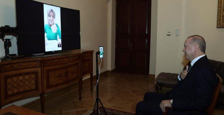 Cumhurbaşkanı Erdoğan, Gülsüm Genç'le görüştü