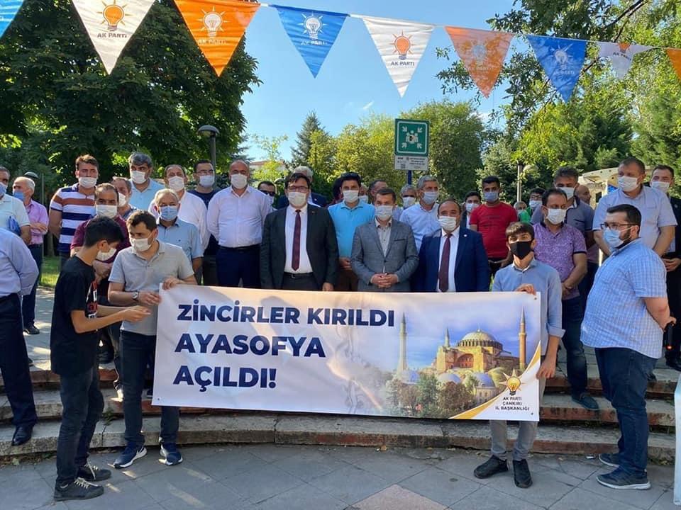 """İl Başkanı Çelik """"Zincirler Kırıldı, Ayasofya Açıldı"""""""