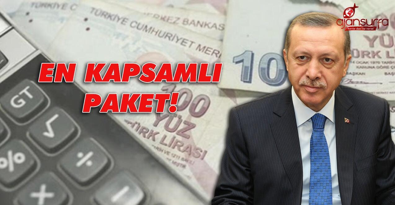 Cumhurbaşkanı talimatı verdi: Borçlar erteleniyor