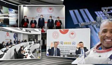 Türkiye İle Uluslararası Uzay İstasyonu Arasında Bir İlk!