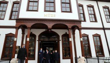 Vali Ayaz, Çankırı Müzesinde İnceleme Yaptı