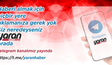 Yaran Haber Telegram Kanalı Yayında